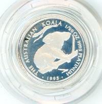 Image 1 for 1995 One Twentieth oz Proof Platinum Koala in Capsule