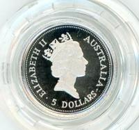 Image 2 for 1997 One Twentieth oz Proof Platinum Koala in Capsule