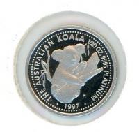 Image 1 for 1997 One Twentieth oz Proof Australian Koala