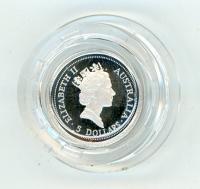 Image 2 for 1998 One Twentieth oz Platinum Koala Proof in Capsule