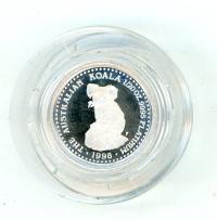 Image 1 for 1998 One Twentieth oz Platinum Koala Proof in Capsule