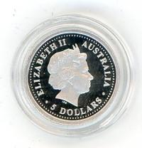 Image 2 for 2003 Australian One Twentieth oz Koala in Capsule