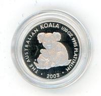 Image 1 for 2003 Australian One Twentieth oz Koala in Capsule