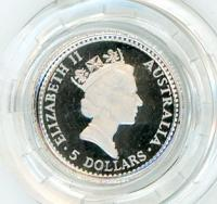 Image 2 for 1990 One Twentieth oz Proof Platinum Koala in Capsule