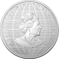 Image 2 for 2020 $1 Beneath The Southern Skies Silver 99.9%Ag 1oz Brilliant UNC Coin in Capsule - Royal Australian Mint