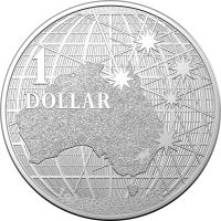 Image 1 for 2020 $1 Beneath The Southern Skies Silver 99.9%Ag 1oz Brilliant UNC Coin in Capsule - Royal Australian Mint