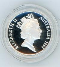 Image 3 for 1993 One Dollar Silver Proof - Landcare