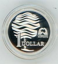 Image 2 for 1993 One Dollar Silver Proof - Landcare