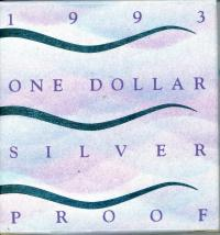 Image 1 for 1993 One Dollar Silver Proof - Landcare