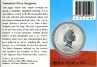 Image 2 for 1996 One Dollar 1oz Silver Kangaroo