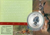Image 2 for 1998 One Dollar 1oz Silver Kangaroo