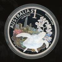 Image 2 for 2010 Perth Mint Coin Show Special ANDA - Celebrate Australia Queensland
