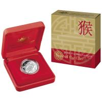 Image 1 for 2016 Lunar Year of the Monkey Fine Silver Proof Coin