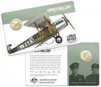 Image 1 for 2019 Centenary off the Great Air Race Uncirculated $1.00 - Sopwith Wallaby