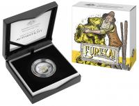 Image 1 for 2020 Eureka Gold Plated Silver Proof Dollar