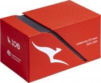 Image 1 for 2020 Qantas Centenary $1 AlBr Cu 11 Coin UNC Set