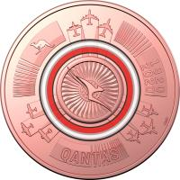 Image 3 for 2020 Qantas Centenary $1 AlBr Cu 11 Coin UNC Set