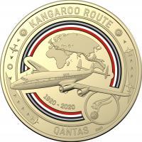 Image 5 for 2020 Qantas Centenary $1 AlBr Cu 11 Coin UNC Set