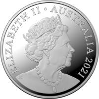 Image 3 for 2021 $1.00 Fine Silver Proof Kangaroo - Outback Majesty