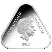 Image 3 for 2015 $5 Fine Silver Proof Anzac Five Dollar Triangular Coin