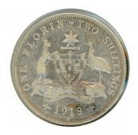 Image 1 for 1918 Australian Florin aF