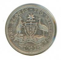 Image 1 for 1923 Australian Florin (B) VG