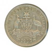 Image 1 for 1932 Australian Florin VF