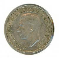 Image 2 for 1952 George VI Florin VF