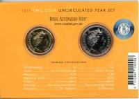 Image 3 for 2012 Two Coin Mint Set- Australian Wheat Fields of Gold