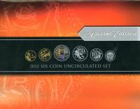 Image 1 for 2012 Six Coin Mint Set - Special Edition