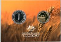 Image 2 for 2012 Two Coin Mint Set- Australian Wheat Fields of Gold