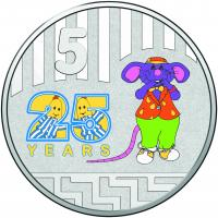 Image 3 for 2017 Bananas in Pyjamas Coloured Frosted Uncirculated Two Coin Set