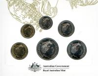 Image 3 for 2017 Six Coin Mint Set Effigy of an Era - Ian Rank-Broadly Portrait