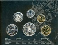 Image 2 for 2017 Six Coin Mint Set Effigy of an Era - Ian Rank-Broadly Portrait
