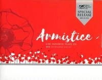Image 1 for 2018 Six Coin Mint Set - Armistice 100 Years On  - Berlin World Money Fair Special Issue