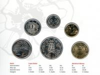 Image 2 for 2018 Six Coin Mint Set - Armistice 100 Years On  - Berlin World Money Fair Special Issue