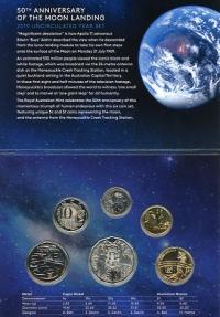 Image 2 for 2019 50th Anniversary of the Moon Landing UNC Year Set - World Money Fair Special Release Berlin 2019