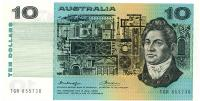Image 1 for 1976 $10 Knight-Wheeler Centre Thread TGR 855730 gEF