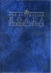 Image 1 for 1989 $5 Platinum One Twentieth oz Proof Issue Koala in Capsule
