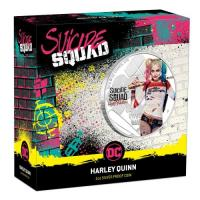 Image 1 for 2019 Suicide Squad Harley Quinn 1oz Coloured Silver Proof Coin
