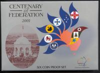 Image 1 for 2001 Six Coin Proof Set - Centenary of Federation