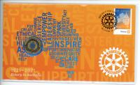 Image 1 for 2021 Issue 16 -  Rotary in Australia RAM $1 PNC Issue 16 limited to 7,500