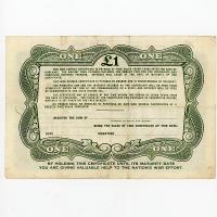 Image 2 for 1945 £1 War Savings Certificate - AD384720