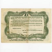 Image 2 for June 1945 £1 War Savings Certificate - EC489082