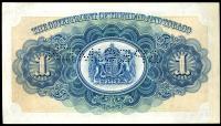 Image 2 for 1935 Trinidad & Tobago Specimen One Dollar 23 C00000 VF