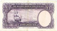 Image 2 for 1950's New Zealand One Pound Wilson VF - H9 824830