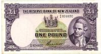 Image 1 for 1950's New Zealand One Pound Wilson VF - H9 824830