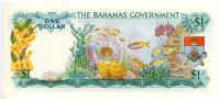 Image 2 for 1968 Bahamas $1 Note D062508 aUNC