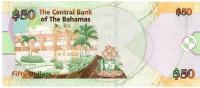 Image 2 for 2006 Bahamas Fifty Dollar Note  UNC H462427