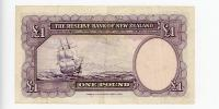 Image 2 for 1960's New Zealand One Pound 090 042960 VF